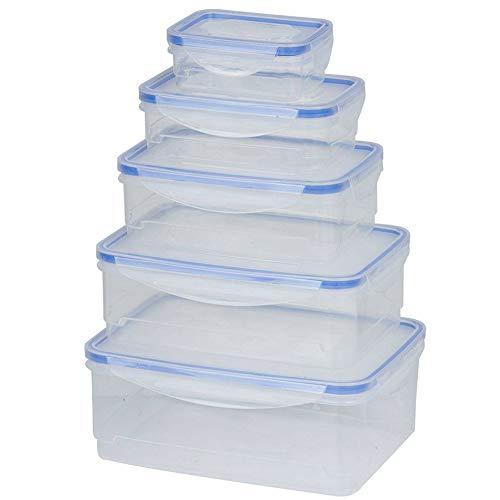 TronicXL 10 TLG Set Frischhaltedose Aufbewahrung Vorrats Dose Klicksystem Küche Dosen spülmaschinenfest Frischhaltedosen BPA FREI