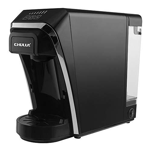 Chulux Kapsel Kaffeemaschine Maschine Multifunktional 2 in 1 Kompatibel mit Nespresso/Dolce Gusto Kapsel