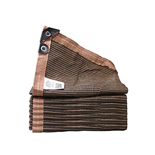 GXYAWPJ- Malla Sombreadora Protección UV Bordes Reforzados Transpirable Vela Sombra Tasa de Sombreado 95% Engrosamiento de Cifrado Perforado Impermeable Antiedad 23 Tamaños(Size:3×4m)