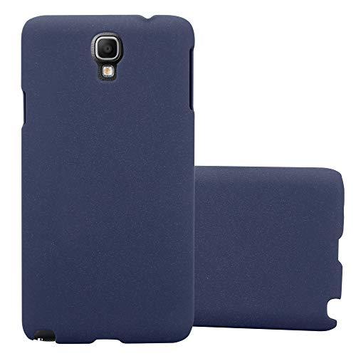 Cadorabo Funda para Samsung Galaxy Note 3 Neo en Frosty Azul - Cubierta Protección de Plástico Duro Super Delgada e Inflexible con Antichoque - Case Cover Carcasa Protectora Ligera