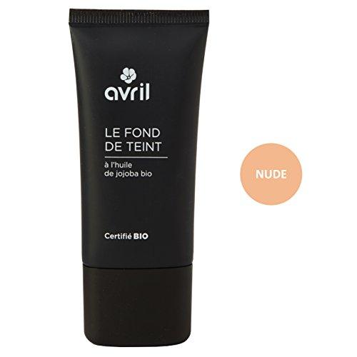 Avril - Base de maquillaje certificada ecológica, 30 ml