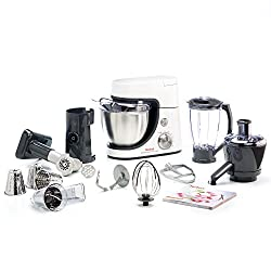 Tefal MasterChef Gourmet 900-Watt Stand Mixer with 11 Food Processor