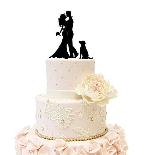 Our #7 Pick is the Uniquemystyle Wedding Cake Topper