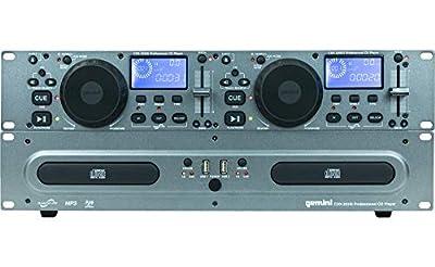 Gemini CDX-2250 double CD player