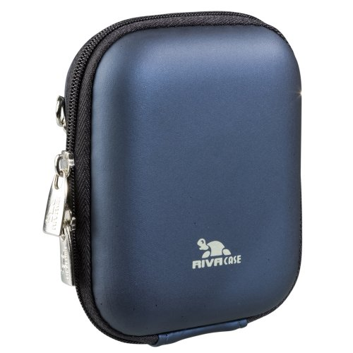 RivaCase®  7006 (PU) Kameratasche (Hardcase - Hartschale) dunkelblau
