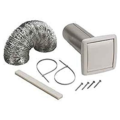 Broan-NuTone Available NuTone WVK2A Flexible Wall Ducting Kit for Ventilation Fans, 4-Inch