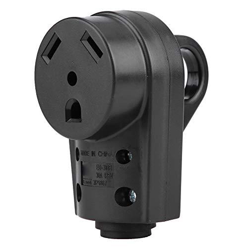 Reisstekker RV 30 AMP bus elektrische stekker met Easy Grip handvat aansluitkabel