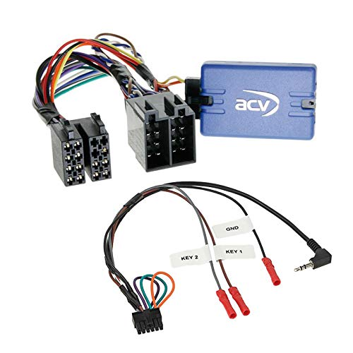 Stuurwiel afstandsbediening adapter interface SWC geschikt voor Peugeot 807, 2002-2005, Zonder JBL geluidssysteem.