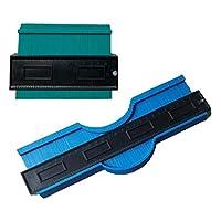 FLAMEER 5インチ&10インチコンターゲージシェイプデュプリケータープロファイルツール木工アクセサリー