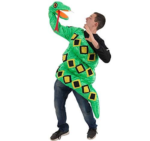 Nines d'Onil Disfraz de Abrazo de Serpiente para Adultos
