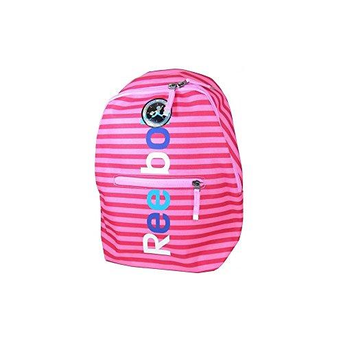Reebok BTS GR BCKP 3: Mochila para niñas  Color Rosa Azul Blanco  Talla única