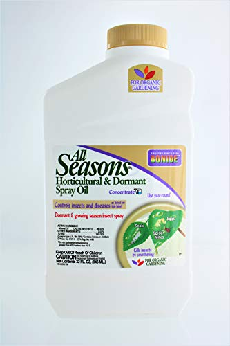 Bonide 211 Concentrate All Seasons Horticultural Spray Oil, 32 Oz