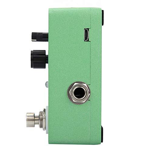 Procesador de sonido con efecto de retardo clásico, procesador de retardo clásico, pedal de efecto de guitarra con retardo clásico, para pedal de guitarra, guitarra eléctrica