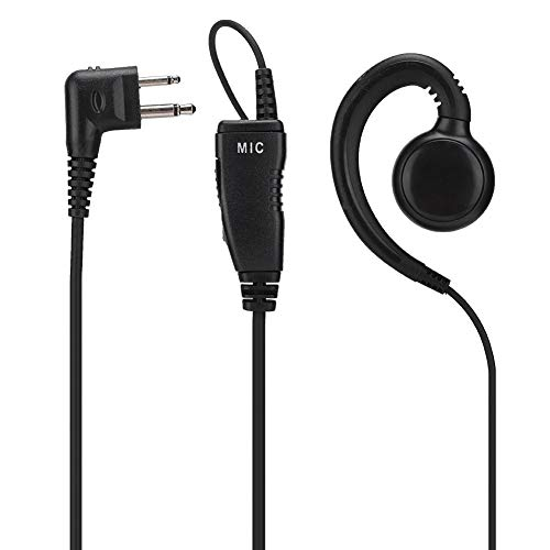 Auriculares con Micrófono para Walkie Talkie para Motorola XT420, XT460, DLR1020, DLR1060, para Yaesu FT-4VR, FT-4XR,
