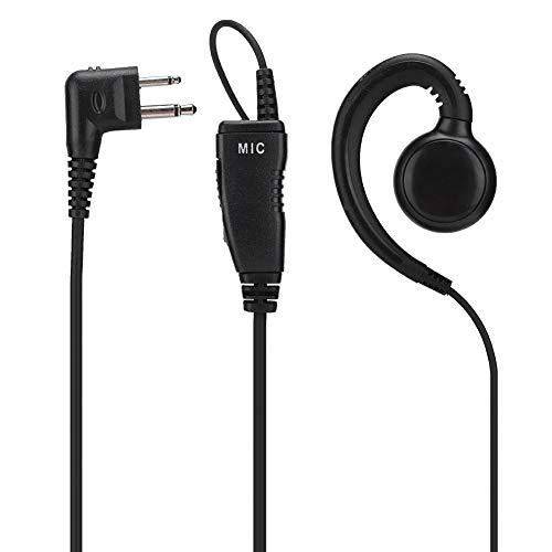 Walkie Talkie Auricolare Radio bidirezionale con Microfono per Motorola XT420, XT460, DLR1020, DLR1060, per Yaesu FT-4VR, FT-4XR,