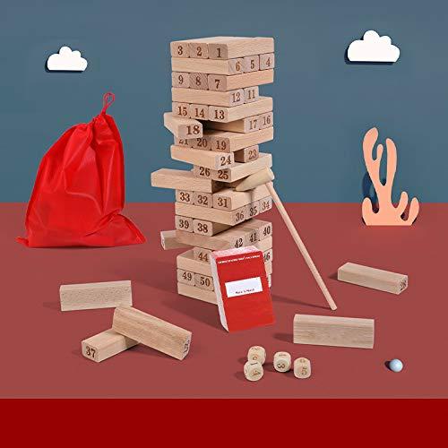 Pilas de bloques musicales, rompecabezas para adultos y niños, pilas de alturas, juegos de mesa para padres e hijos, juguetes en capas