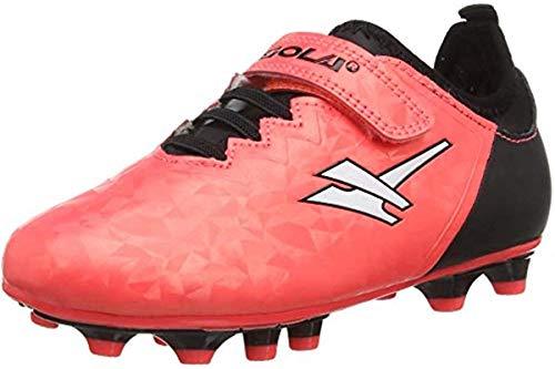 Gola Ativo 5 Fußballschuhe für Jungen und Mädchen, Pink - Rosa Plasma - Größe: 27 EU