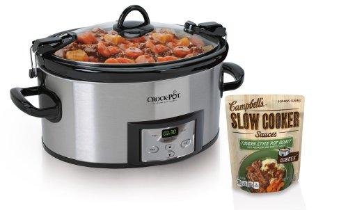Crock-Pot SCCPVL610-S 6-Quart Programmable...