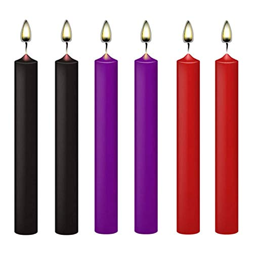 Low Temperature Candles Romantic Candles, Low Heat Dripping Wax Candles Valentine Candles for Couples Lovers Wedding, Home Decoration