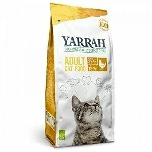 Yarrah Bio Croquettes au Poulet pour Chat 800 g