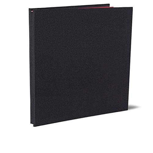 Vienrose Album Photo Adhésif Scrapbooking Magnétique 40 Pages en Lin Relié 28x27 cm avec Un Stylo Métallique pour Mariage Bébé Famille Voyage