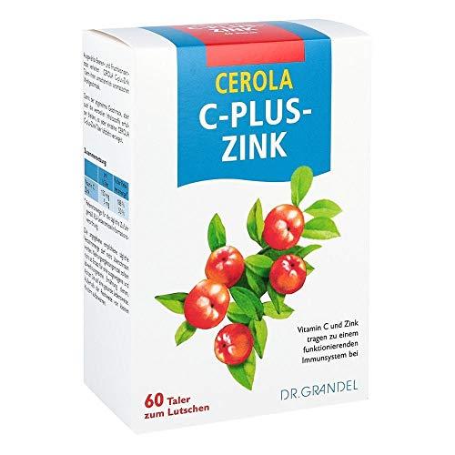 CEROLA C-Plus-Zink Taler, 60 St. Tabletten