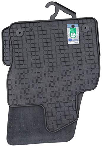 PETEX Gummimatten passend für Karoq ab 11/2017 Fußmatten schwarz 4-teilig