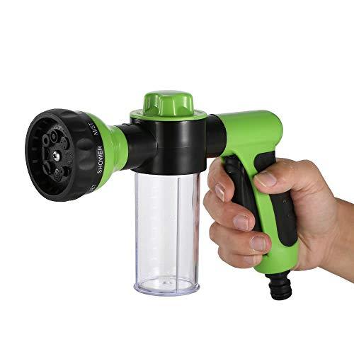 SEGIBUY Sproei-mondstuk voor tuinslang, hogedrukschuim Washer auto waterpistool reinigingsgereedschap voor automatisch wassen, planten water geven, huisdieren douchen