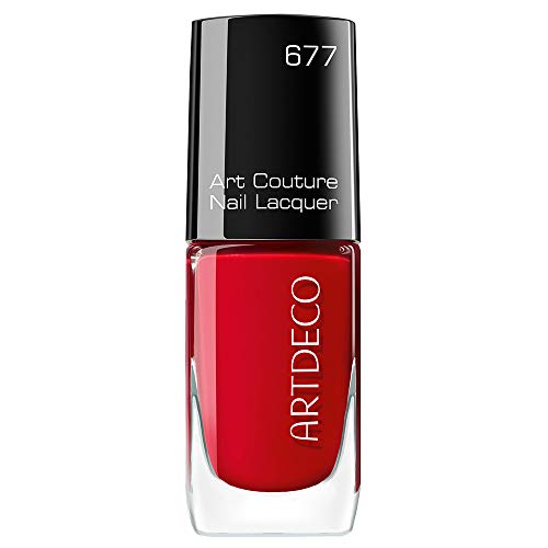 ARTDECO Art Couture Nail Lacquer, Nagellack rot, Nr. 677, love