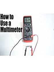 cheap How to use a multimeter for beginners – measure voltage, resistance, conduction and current