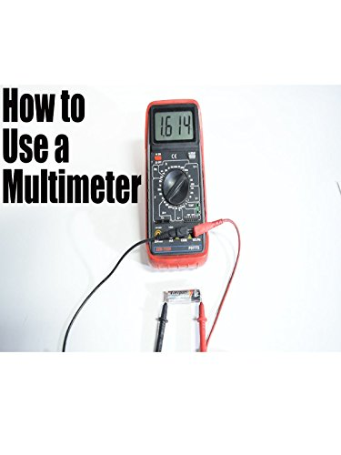 How to Use a Multimeter for Beginners - How to Measure Voltage, Resistance, Continuity and Amps