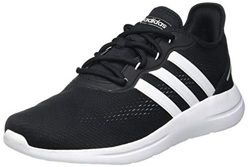 adidas Mens LITE Racer RBN 2.0 Running Shoe, CBLACK/FTWWHT/GRETWO,43 1/3 EU