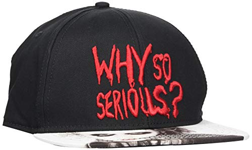 Batman The Joker Why So Serious Casquette Snapback Noir/Blanc/Rouge