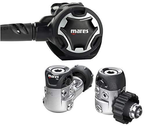 Mares 416258 416258-Regulador de Buceo Dual 15X Conexion INT, Adultos Unisex, Talla Única