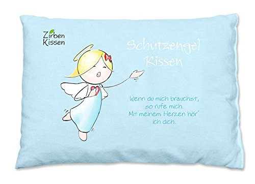 Engel Zirbenkissen: Schutzengel-Kissen - Wenn du mich brauchst, so rufe mich ...