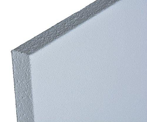 Infrarotheizung ECOSUN E300  Infrarot Heizung 300 Watt Thermocrystal Beschichtung für bessere Abstrahlung Schutzklasse IP44 inkl. Halter für Wand und Decke