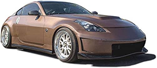 KBD Body Kits Compatible with Nissan 350Z 2003-2008 N3-R Style 4 Piece Flexfit Polyurethane Full Body Kit. Extremely Durable, Easy Installation, Guaranteed Fitment, Made in the USA!