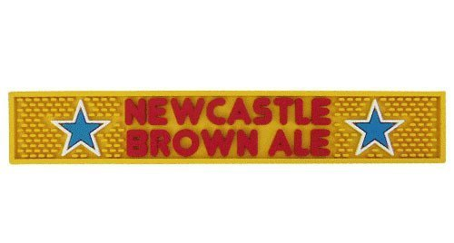 Newcastle Brown Ale Bar Mat by Newcastle