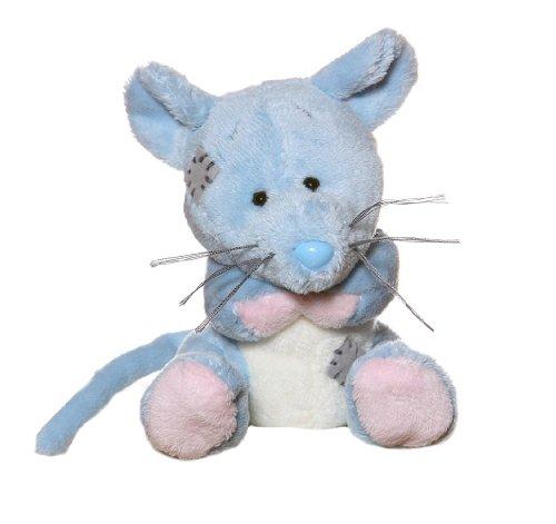 Tatty Teddy & My Blue Nose Friends – Cheddar le Mulot – Peluche 10 cm (Import Royaume Uni)