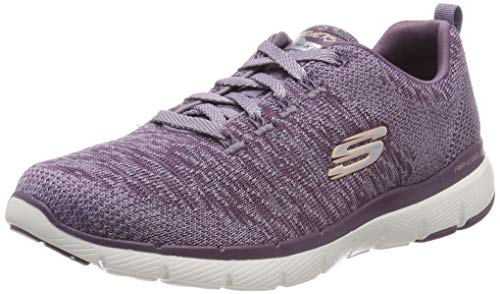Skechers Damen Flex Appeal 3.0 Trainers, Lila Plum, 39 EU