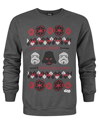 Star Wars Darth Vader Fair Isle Christmas Men's Sweater