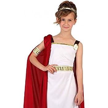 Atosa-6613 Disfraz Romana, Color Blanco, 7 A 9 Años (6613): Amazon ...