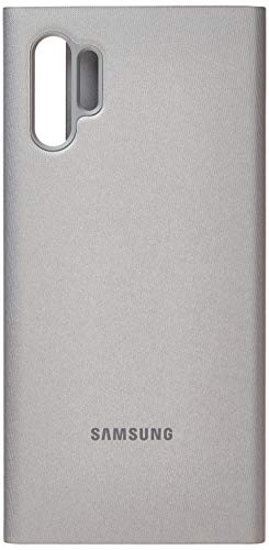 Samsung Clear View Cover (EF-Zn975) für Galaxy Note10+ | Note10+ 5g, Silber