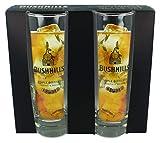 Bushmills - Juego de vasos Hi-Ball de whisky irlandés