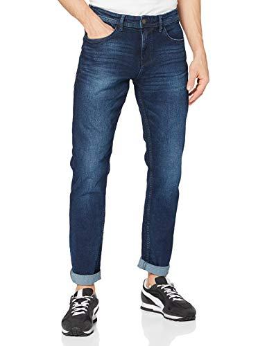 TOM TAILOR Denim Piers Jeans, Clelasthann 10114 Dark Stone Blue-Juego de Mesa de Madera, 30W x 32L para Hombre