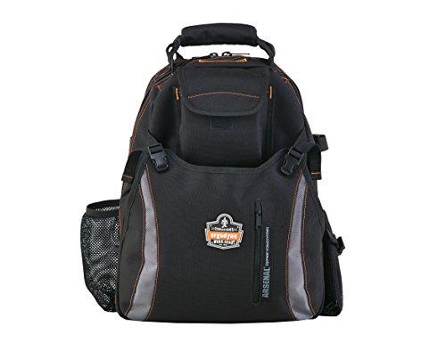 Arsenal 5843 - mochila doble compartimiento de la herramienta gris