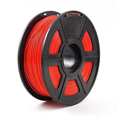 JIALUN ZFX-DAYIN, 1pc 3D-Drucker Filament PLA 1,75 mm 1 kg / 2,2 lbs 3D Plastik Filament Natureworks PLA verwendet for 3D-Drucker oder 3D-Pen (Color : Red)