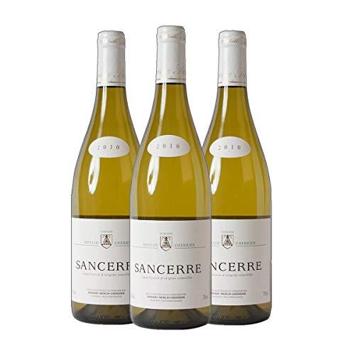 Sancerre Domaine Thierry Merlin Cherrier 2019 hochwertiger Weißwein Frankreich trocken (3x 0.75 l)