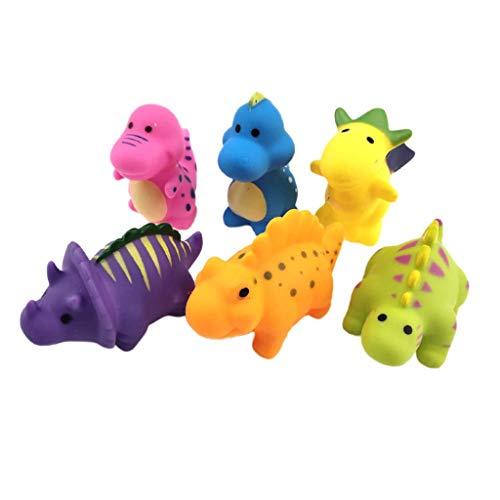 Badewanne Dinosaurier Spielzeug, Swinming Pool Floating Tier Wasser spritzen Spaß Spielzeug Nette Wasser Spiel Sets for Kinder Jungen Mädchen Kind Wasser Frühe pädagogische Float Bad Spielzeug liuchan