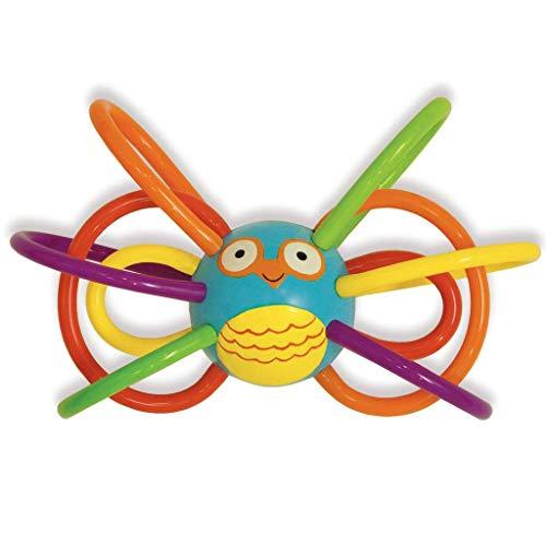 Hochet Hochet Winkel Toy Zoo de Manhattan et dentition sensorielle